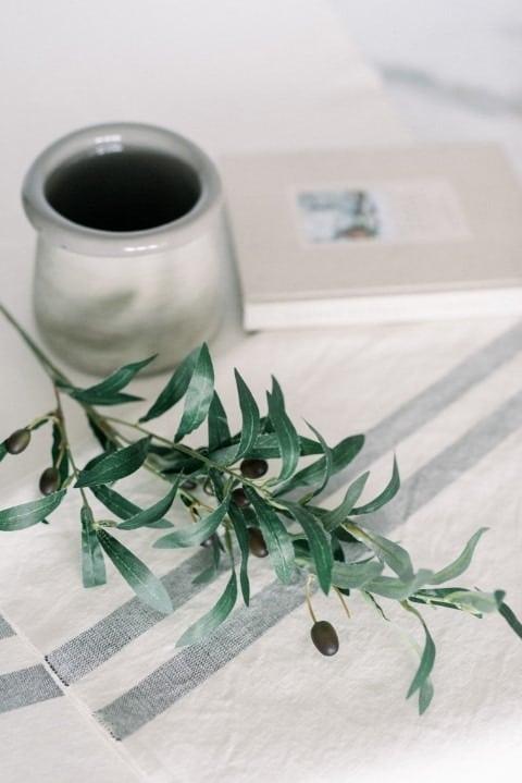 szürke mázatan kerémia váza